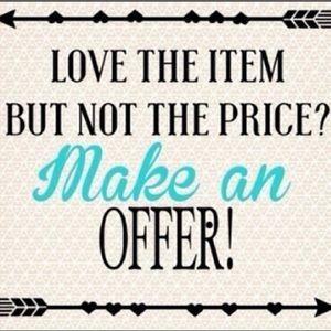Make An Offer 🤗🤗